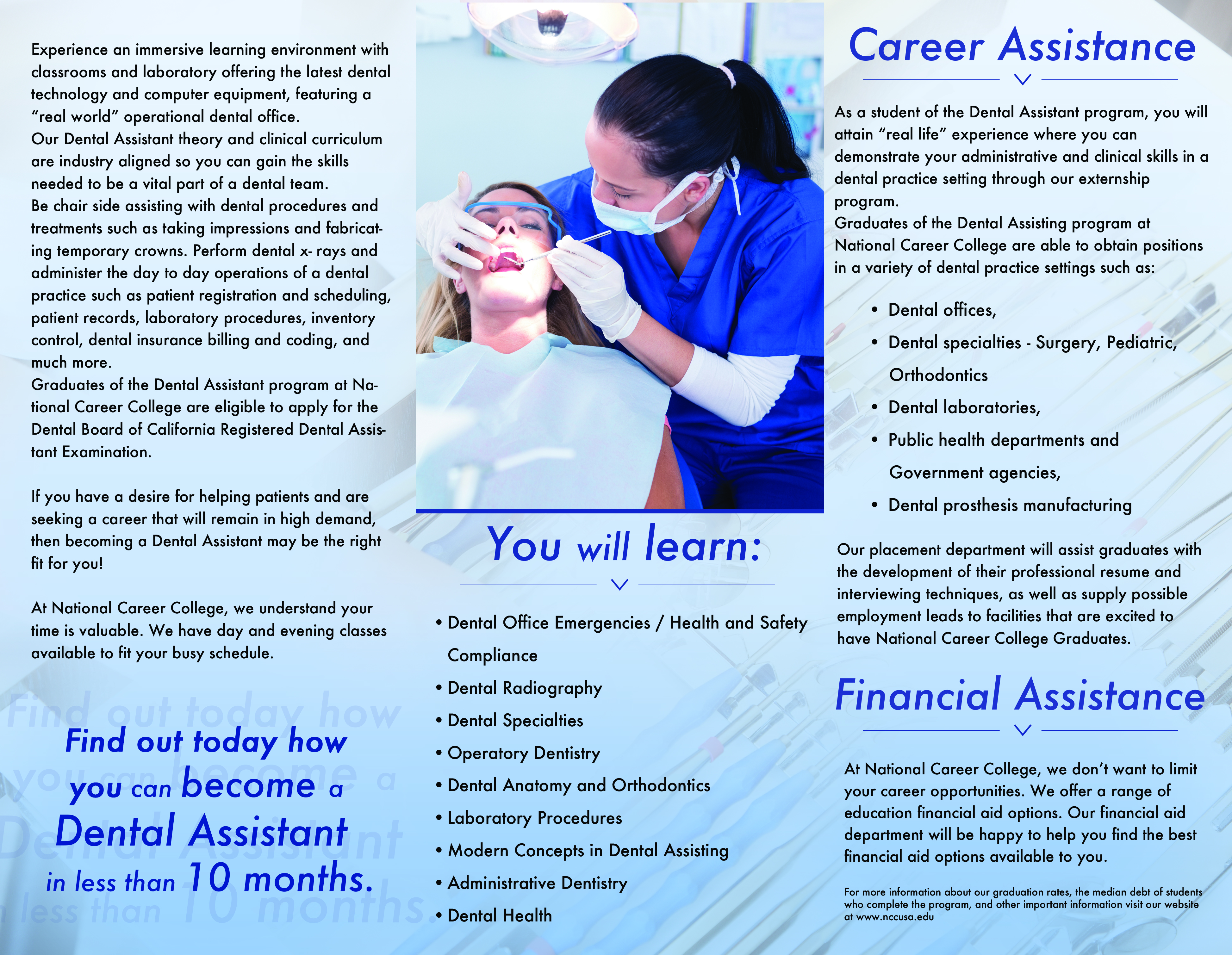 National Career College - Panorama City, CA - Dental Assistant